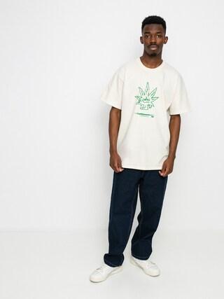 HUF X 420 Easy Green T-shirt (natural)
