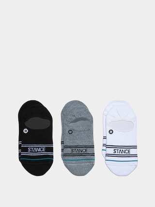 Stance Basic 3 Pack No Show Socks (multi)