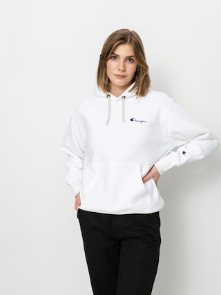 Champion Sweatshirt HD 113150 Hoodie Wmn (wht)