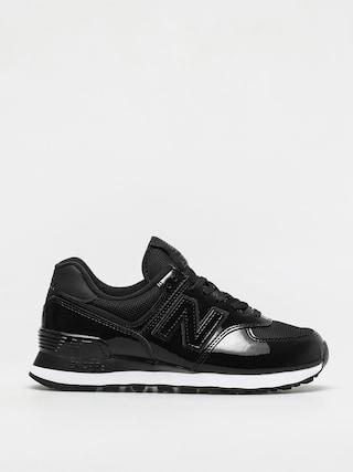 New Balance 574 Shoes Wmn (black/white)