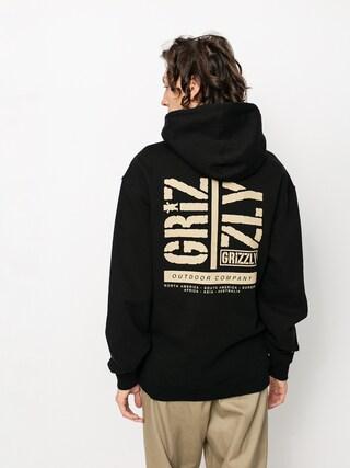 Grizzly Griptape Family Ties HD Hoodie (black)
