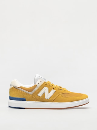 New Balance All Coasts 574 Shoes (yellow)