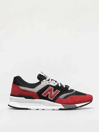 New Balance 997 Shoes (red/grey)