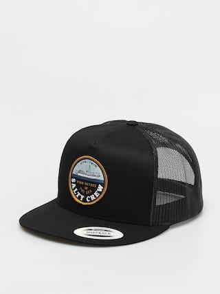 Salty Crew Dawn Patrol Trucker Cap (black)