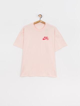 Nike SB Left Chest Script T-shirt (orange pearl/lt fusion red)