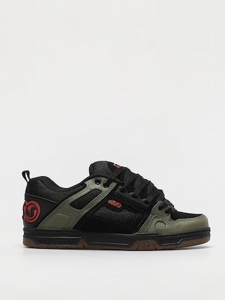 DVS Comanche Shoes (black olive orange nubuck)