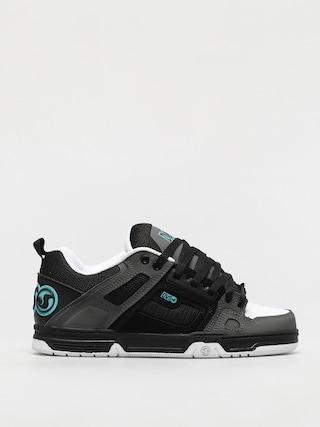 DVS Comanche Shoes (black charcoal white turquois nubuck)