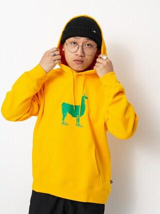Nike SB Paul Sweatshirt (university gold/stadium green)