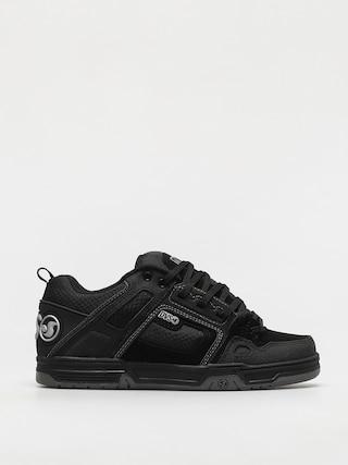 DVS Comanche Shoes (black reflective charcoal nubuck)