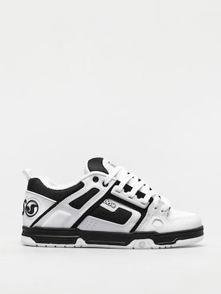 DVS Comanche Shoes (white black white leather)