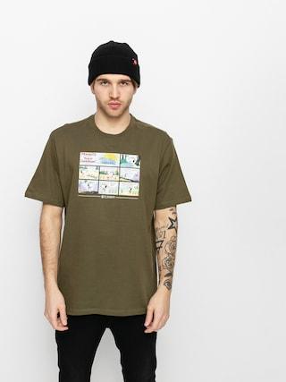 Element Peanuts Camper T-shirt (army)