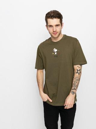 Element Peanuts T-shirt (army)