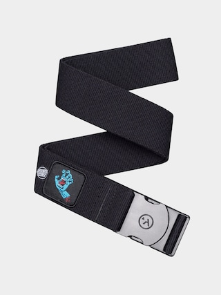 Arcade Rambler Santa Cruz Collab Belt (black/screaming hand)