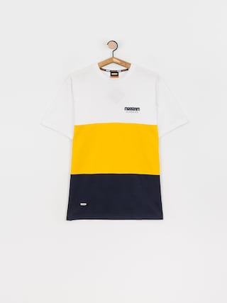 MassDnm Zone T-shirt (white/gold/navy)