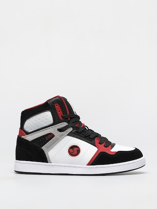 DVS Honcho Shoes (white black red suede)