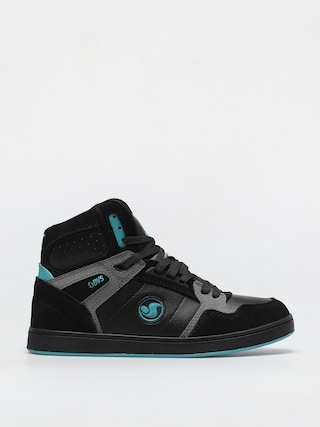 DVS Honcho Shoes (black charcoal turquois suede)