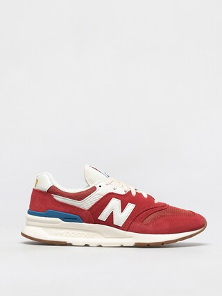 New Balance 997 Shoes (team red/gold)