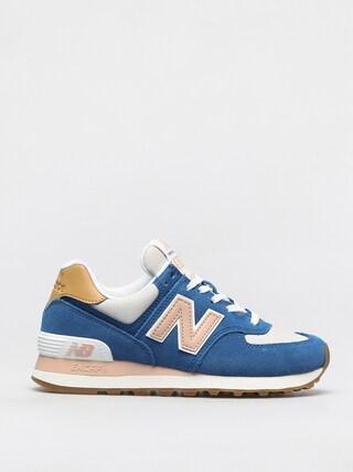 New Balance 574 Shoes Wmn (blue/pink)