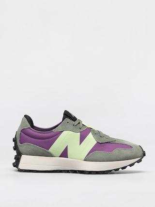 New Balance 327 Shoes (grape lime)