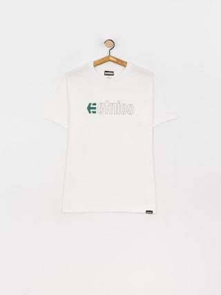 Etnies Ecorp T-shirt (white/black/green)