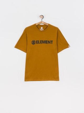 Element Blazin T-shirt (gold brown)