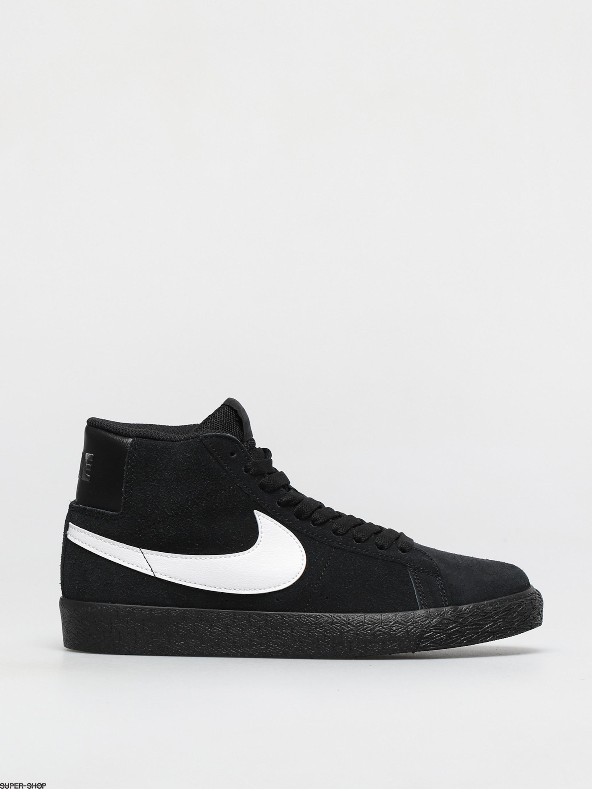 Nike SB Zoom Blazer Mid Shoes (black/white black black)