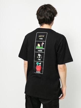 Element Peanuts Page T-shirt (flint black)