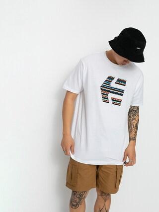 Etnies Icon Print T-shirt (white/blue)