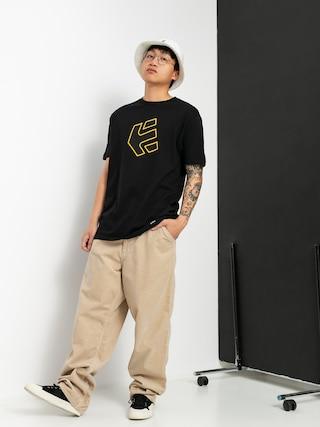 Etnies Crank T-shirt (black/yellow)
