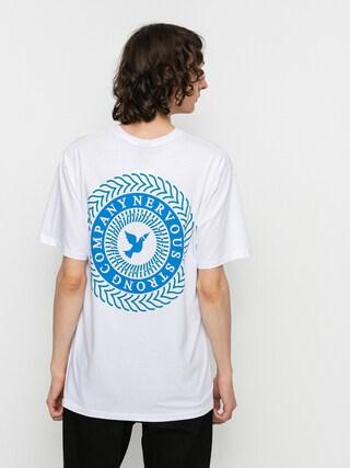 Nervous Swirl T-shirt (white)