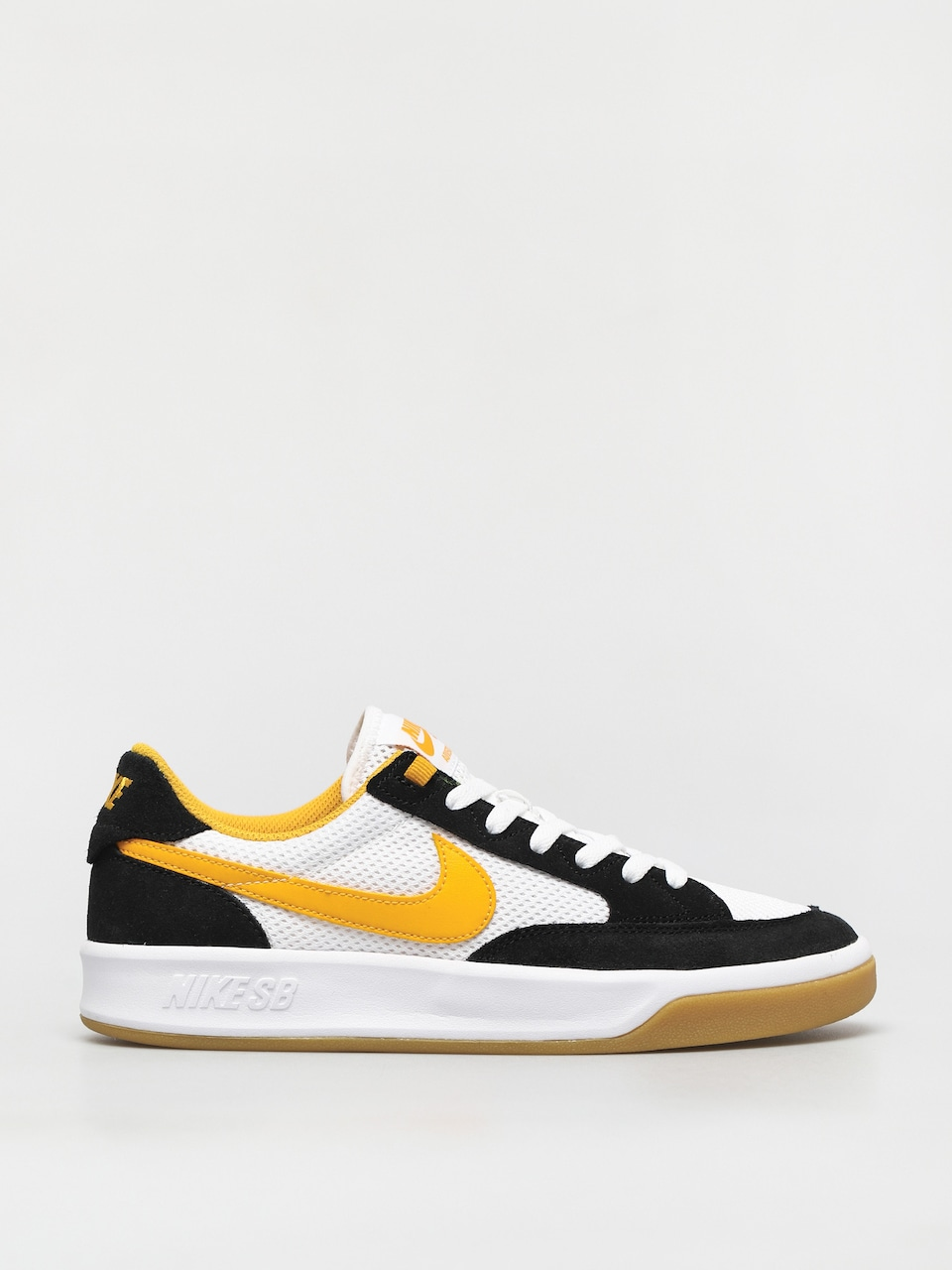Nike SB Adversary Shoes (black/university gold white)