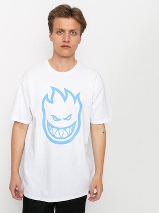 Spitfire Sf Big Head T-shirt (white/light blue)