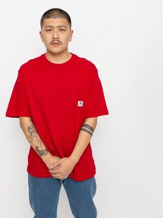 Element Basic Pocket Label T-shirt (chili pepper)