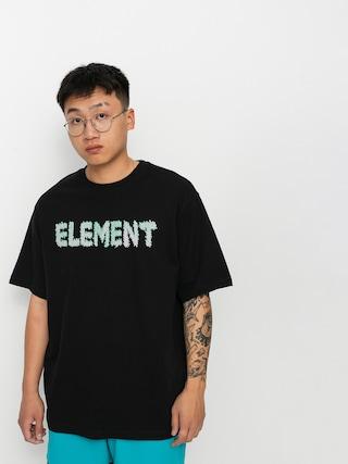 Element Lettering T-shirt (flint black)
