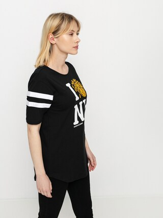 Element I Heart Football T-shirt Wmn (black)