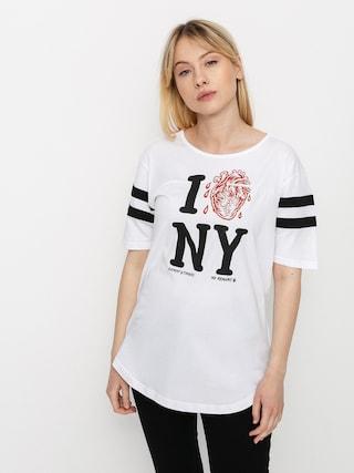 Element I Heart Football T-shirt Wmn (optic white)