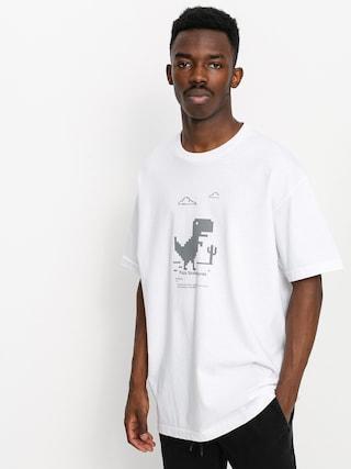 Pizza Skateboards Pizza X Free Wifi T-shirt (white)