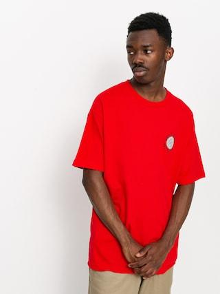 Spitfire Classic 87 Swirl T-shirt (red/black)