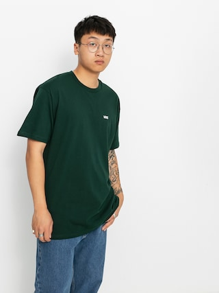 Vans Left Chest Logo T-shirt (scarab)