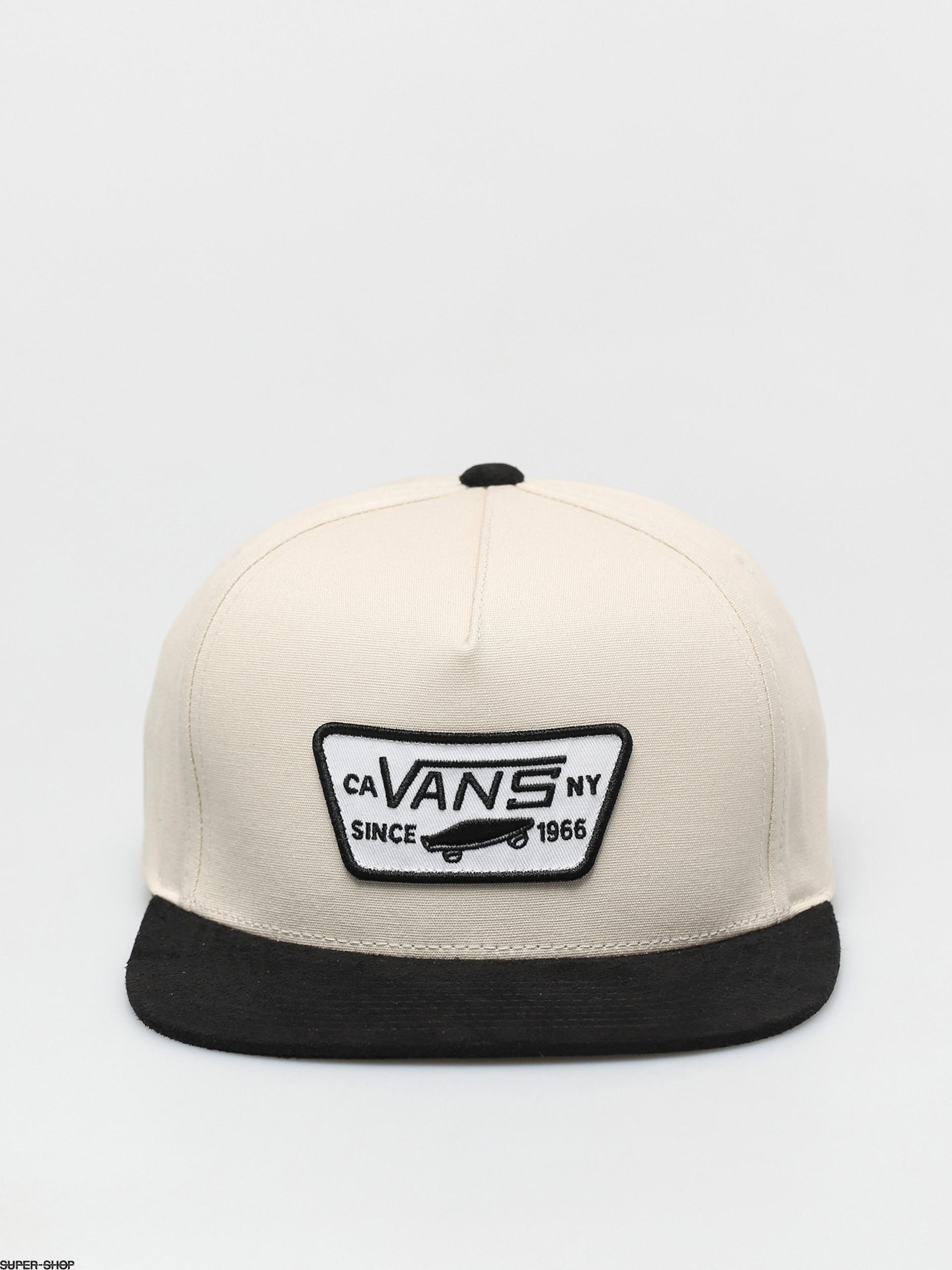 Vans Full Patch Snapback Cap (oatmeal/black)