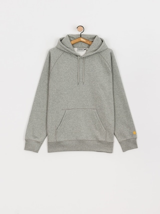 Carhartt WIP Chase HD Hoodie (grey heather/gold)