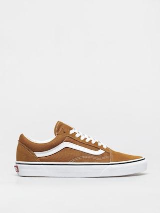 Vans Old Skool Shoes (golden brown/true white)