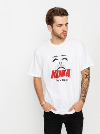 Koka Take T-shirt (white)