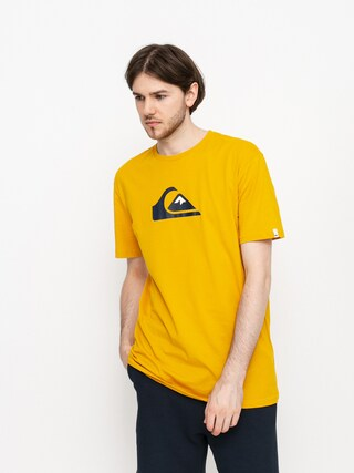 Quiksilver Comp Logo T-shirt (nugget gold)