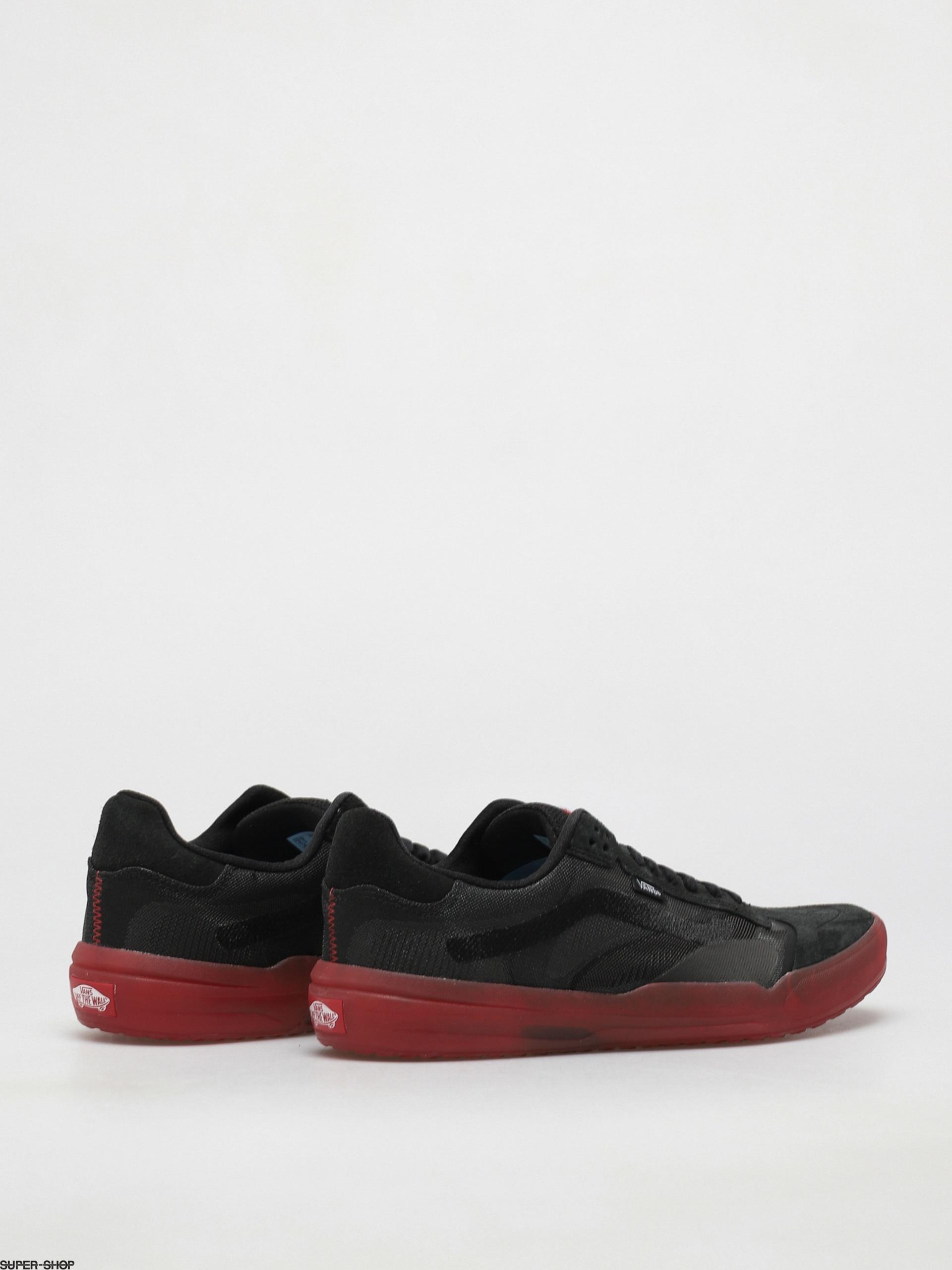 Vans Evdnt Ultimatewaffle Shoes (black/red)