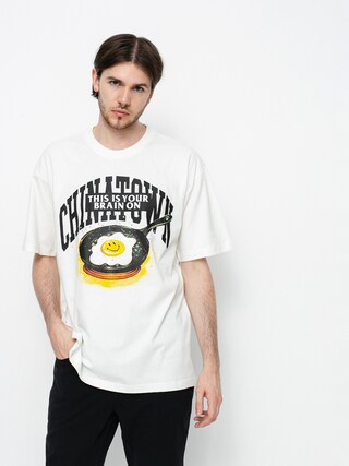 Chinatown Market Smiley Brain On Fried T-shirt (cream)