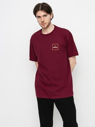Brixton Alpha Block T-shirt (burgundy)