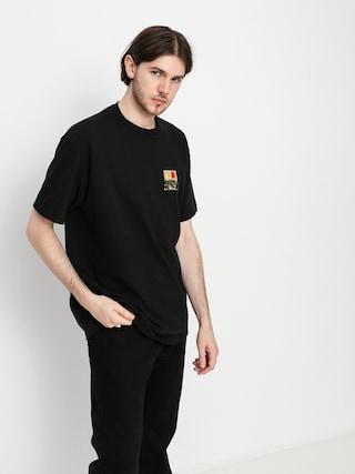 Brixton Alpha Block T-shirt (black/blonde)