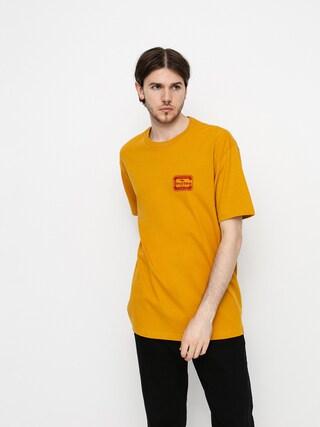 Brixton Quill T-shirt (antique gold)