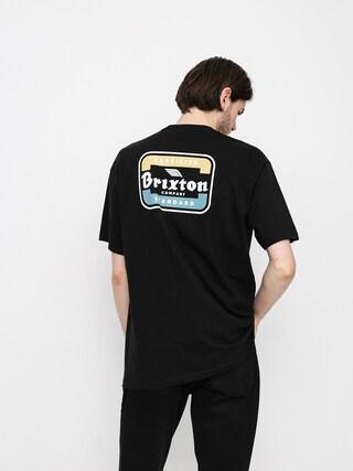 Brixton Quill T-shirt (black/blue)